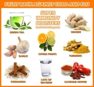Cold Immunity Boosters are great to fight colds and flus. Found on: http://bestforjuicing.com